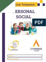 TERCERO - PERSONAL SOCIAL - 3 TRIMESTRE