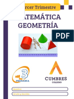 TERCERO - MATE 3 - GEOMETRIA - 3 TRIMESTRE