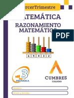 TERCERO - MATE 4 - RAZ MAT - 3 TRIMESTRE