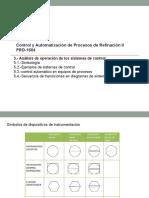 3.3.- Análisis de operación de los sistemas de control