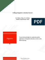 Literature review (metode SLR)