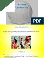 Generalidades del voleibol