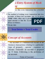 Basics of Accounting till Balance sheet