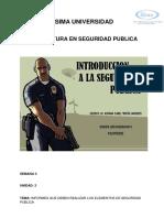 DE SEGURIDAD PUBLICA