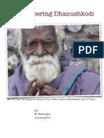 Remembering Dhanushkodi