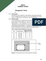 Bab IV Gambar Teknik