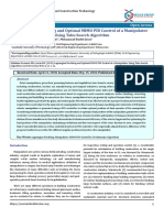 Lagrangian Modeling and Optimal MIMO PID Control of a Manipulator Using Tabu Search Algorithm