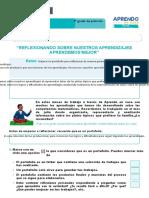 FICHA DE AUTOAPRENDIZAJE MATEMÁTICA -SESION EVALUACIÓN PRIMER GRADO-convertido
