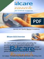 Bilcare GCS Capabilities Presentation 2009 Printable