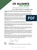Black Alliance for Peace 2020 Candidate Accountability Pledge