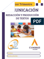 TERCERO - COMU 3 - REDAC Y PRODUC - 3 TRIMESTRE