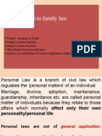 1 Introd of family law