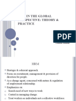 Chap1 HRM in global perspective (chandni)