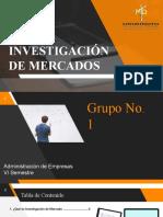 Actividad mercado de Investiga