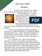 Aztec & Mayan Calendar Ro