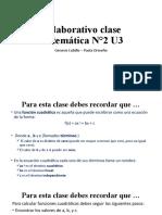 Colaborativo clase matemática N°2 U3