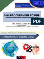 I. Procurement Forum_Overview