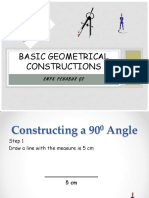 Basic Geometrical Constructions
