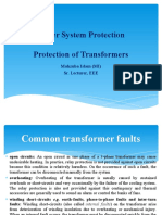 Lecture of Protection of Transformer