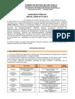 EDITAL CONCURSO PÚBLICO ITESP 2013