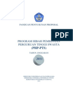 Panduan PHP-PTS 2011