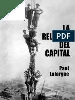 LA RELIGION DEL CAPITAL - Paul Lafargue