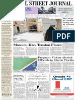 Wallstreetjournaleurope 20160811 the Wall Street Journal Europe