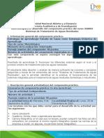 Guía de actividades y rúbrica de evaluación - Fase 6 - Componente Práctico - Presencial