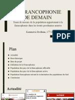 La francophonie de demain.pptx
