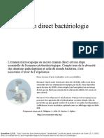 Examen Direct - doc bacterio TF