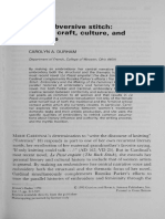 "Durham, C. A, (1990) ""The subversive stitch- female craft, culture, and écriture"" en Women's Studies, Inglaterra- Gordon and Breach, Science Publishers, Inc, Vol. 17, pp. 341-359.pdf"