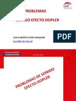 PROBLEMAS SONIDO EFECTO DOPLER