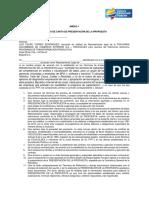 FORMATO DE PRESENTACIÓN PROPUESTA CONTRATACIÓN