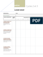 Fiche pédagogique - La programmation EPS 2018 pour les Cycles 2 & 3