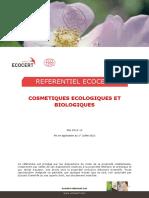 Référentiel cosmétiques écologiques et biologiques - Mai 2012 v2 - ECOCERT