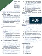 1 Development of MT. History of PAMET & PASMETH