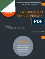 LA EDUCACION FENICIA, PERSA Y HEBREA