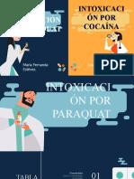 Intoxicación por Paraquat y cocaína Guías ministerio de salud Colombia, toxicología Goldfrank