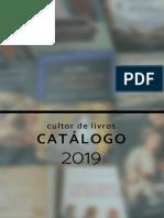 CATALOGO Cultor de Livros 2019