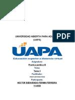 TAREA 33 PRACTICA JURIDICA