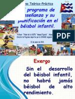 4 Los programas de enseñanza EN EL BEISBOL