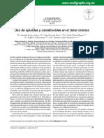 Uso de opioides y canabinoides en el dolor crónico.pdf