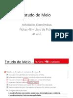 Estudo do Meio Atividades económicas autocorre LF46