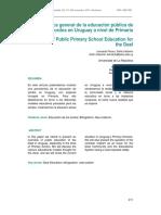 peluso y vallarino (2014) panorámica general de la educación pública de los sordos en uruguay a nivel de primaria