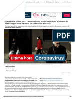 Coronavirus, última hora _ Las autoridades sanitarias incluyen a Miranda de Ebro (Burgos) entre las zonas _de contención reforzada_ _ Salud