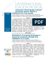 9. La evaluación del lenguaje musical en el alumnado adulto