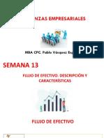 SEMANA 13.2 - FLUJO DE EFECTIVO DESCRIPCION Y CARACTERISTICAS