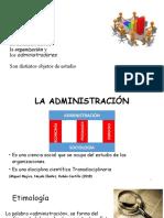 1. La organización, la administración y los administradores Vfinal.pptx