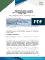 Guia de actividades y Rúbrica de evaluación - Fase 2 - Identificación de procesos