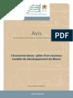 Avis_L'économie bleue  pilier d'un nouveau modèle de développement du Maroc 2018.pdf